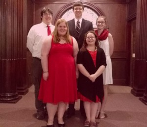 Our Teen Pentecost Worship Leaders
